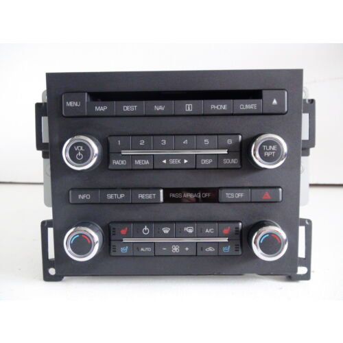lincoln-mks-11-cd-player-radio-wnavigation-climate-controls-aa-ab-ac-ad-ba-bb