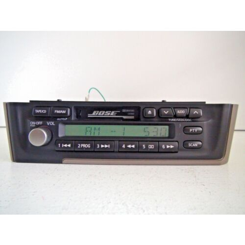 infiniti-i35-20022004-amfm-cassette-tape-player-bose-ck060-pn1728d-tested