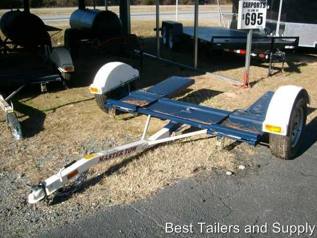 2018 Master Tow Tow Dolly 80thd Eb W Straps And Brakes New Trailer