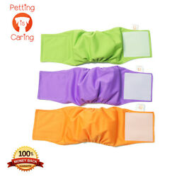Kyпить MALE DOG Belly Band WRAPS WASHABLE by PETTING IS CARING - Set Pack 3 of units  на еВаy.соm