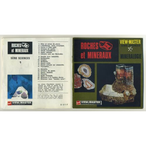 roches-et-mineraux-rocks-and-minerals-mineralogy-viewmaster-packet-b677french