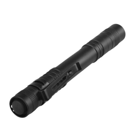 img-LED Lampe Poche Pocket Clip Torch Lumières Flashlight Tactique Portable Camping