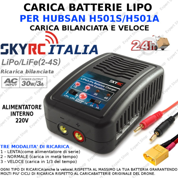 ●IT● Caricabatteria SkyRC Carger D200 AC//DC DUO LiPo 1-6s 200W
