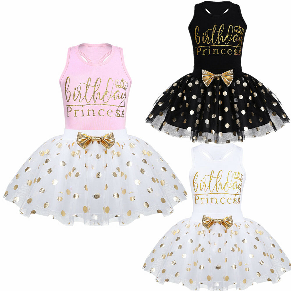 55f31706b2a2 Toddlers Baby Girl Kid Birthday Party Princess Outfit Bow Tutu Skirt ...