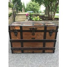 Antique Trunk - Crouch And Fitzgerald circa 1839