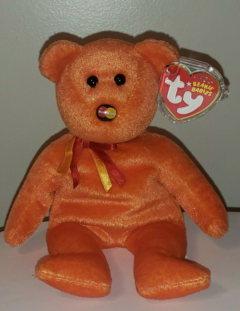 e5a95dc62e5 Details about Ty Beanie Baby - MC VIII (8) MASTERCARD Bear (Credit Card  Exclusive) ~ MWMT
