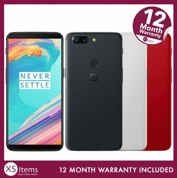OnePlus 5T A5010 64GB/128GB Mobile Smartphone Black/Red/White Unlocked/EE