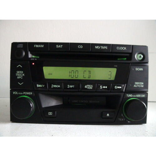 mazda-mpv-2004-2005-2006-cd-cassette-player-combo-sat-radio-id-4165-tested