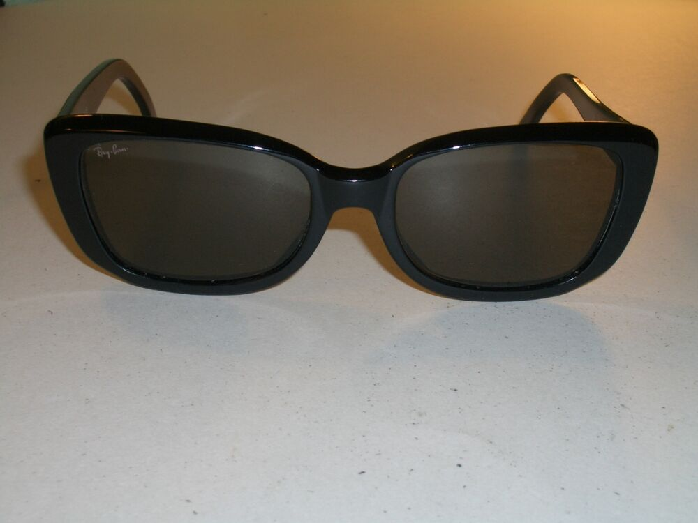53a71d8ee13 Details about 1990 s VINTAGE B L RAY BAN THICK SHINY BLACK G15 UV GLASS  RITUALS SUNGLASSES NEW