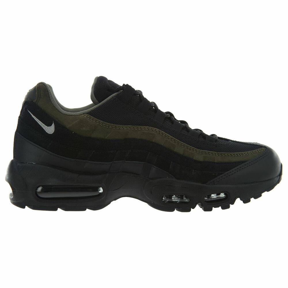 2bba76798d1 Details about Nike Air Max 95 HAL Mens AH8444-001 Black Cargo Khaki Running  Shoes Size 7.5