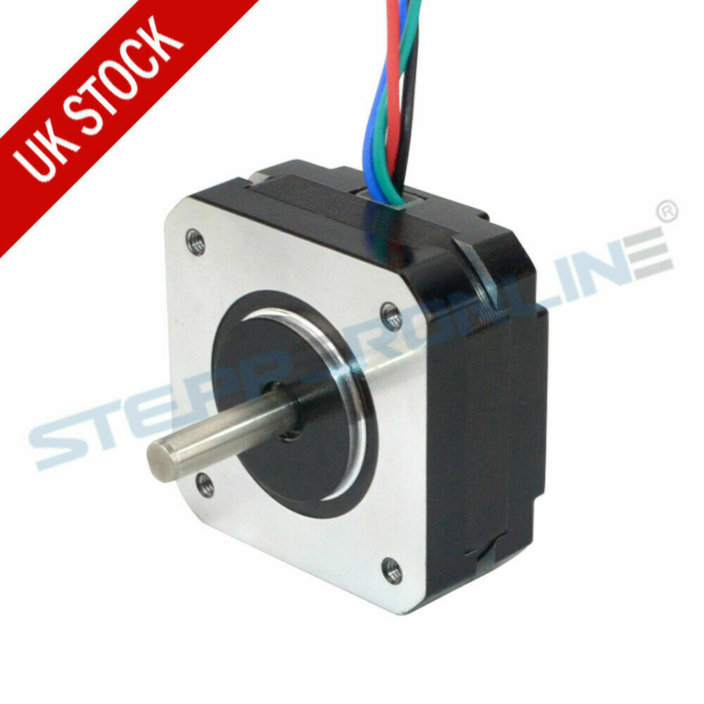Short Nema 17 Stepper Motor 13Ncm 1A 42x42x20mm 4 Wires 3D ... on 4 wire alternator wiring, 4 wire switch wiring, 4 wire blower wiring, 4 wire stove plug wiring, 4 wire water pump wiring, 4 wire fan, 4 wire generator wiring, 4 wire diode wiring, 4 wire bipolar stepper motor,