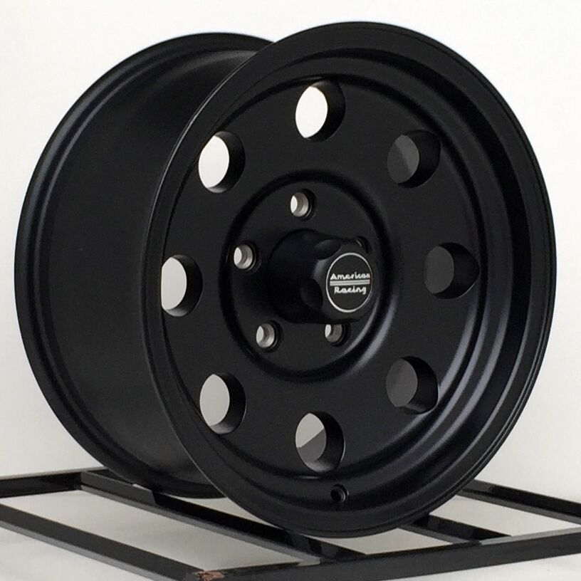 17 Inch Black Chevy Truck Rims