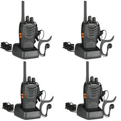 Kyпить 4 x Baofeng BF-888S Two Way Radio 400-470MHz Walkie Talkie Set with Flashlight на еВаy.соm