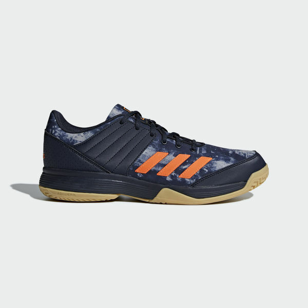 31f6fd7af7976a Details about adidas LIGRA 5 Men s Indoor Shoes Volleyball Badminton Shoe  Blue Sneakers BB6124