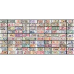 Kyпить World Currency  - Uncirculated Banknote Set - Lot of 100 на еВаy.соm