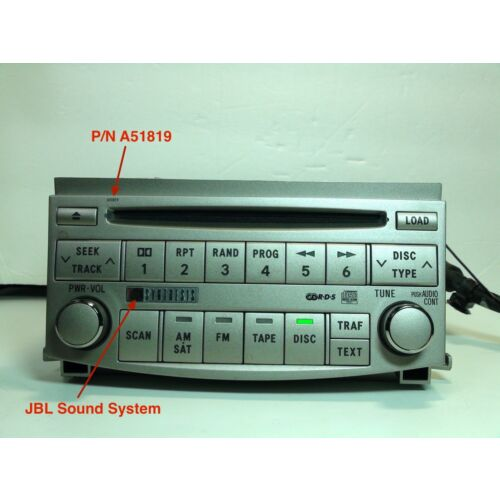 toyota-avalon-0506-6disc-cd-player-a51819-jbl-sound-by-panasonic-tested