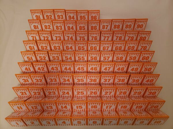 Individual WHATABURGER Restaurant Table Tent Numbers
