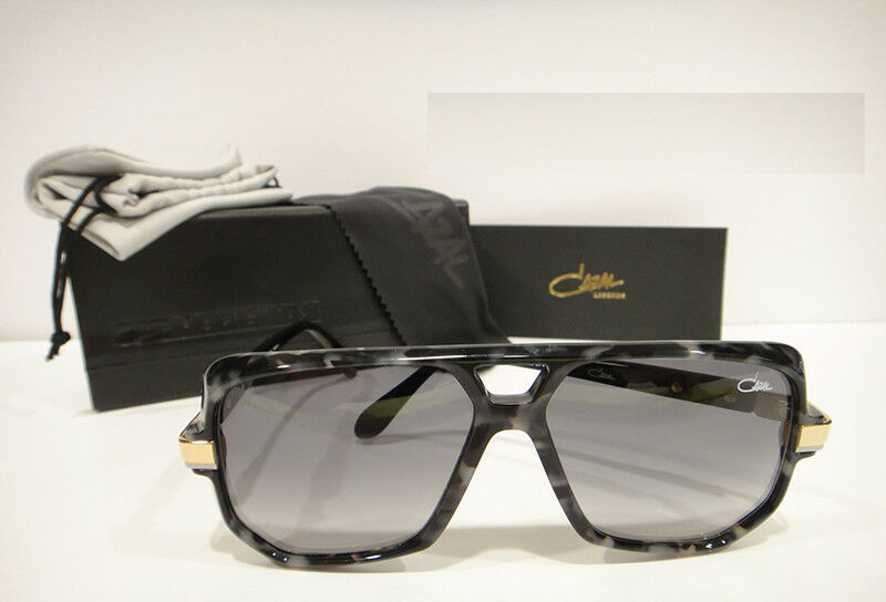 f25a4dcd901 Details about Cazal 627 3 Sunglasses 627 Color 090 Black Marble Gold  Authentic New