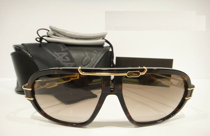 c8b88cb55c0 Details about Cazal 8018 Sunglasses Color 003 Brown Gold Authentic Brand New