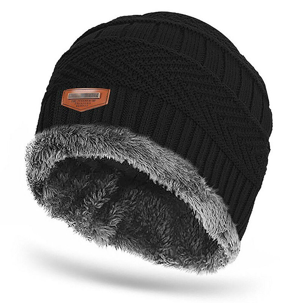 99516707537 Details about Men Women Cable Knit Thick Warm Winter Wool Slouchy Beanie  Hat Cap Baggy Casual