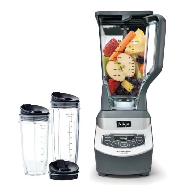 Ninja BL660WM Professional 1000W Blender Smoothie Maker (Certified Refurbished)