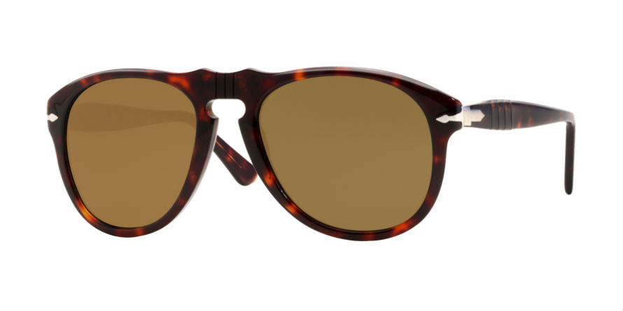 44ed3cee0b Details about Persol 649-S Sunglasses Brown Havana Polarized 2457 Authentic  New Size Large 54m