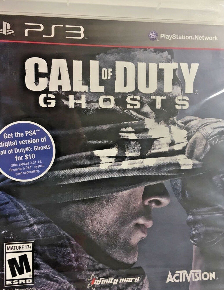Call of Duty: Ghosts (Sony PlayStation 3, 2013) PS3 GAME ...