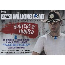 2018 Topps AMC The Walking Dead Hunters & The Hunted Trading Cards Blaster Box