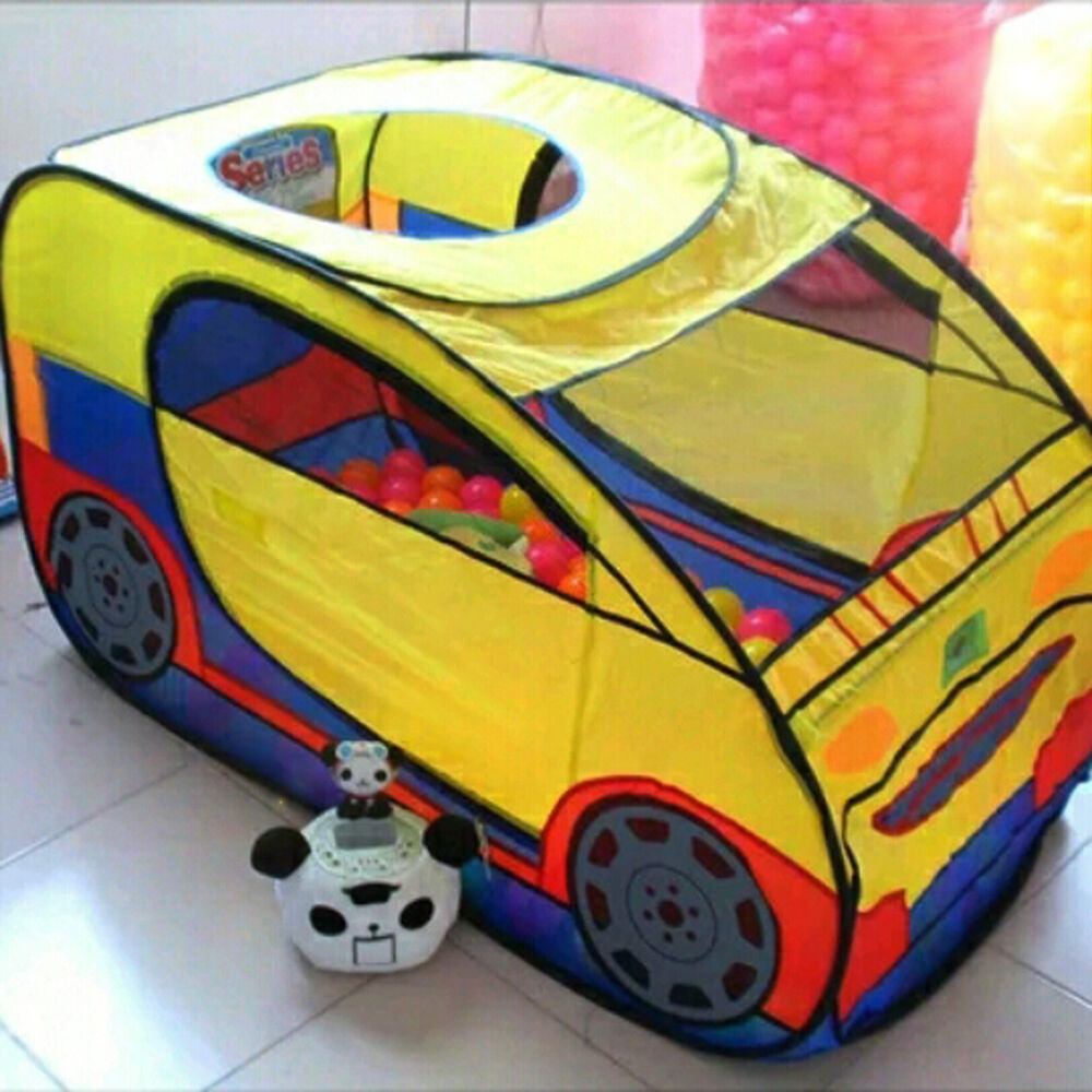 Details about Popular Kids Car Play Tent Indoor Play House Outdoor C&ing Hut Toys Play Tent & Popular Kids Car Play Tent Indoor Play House Outdoor Camping Hut ...