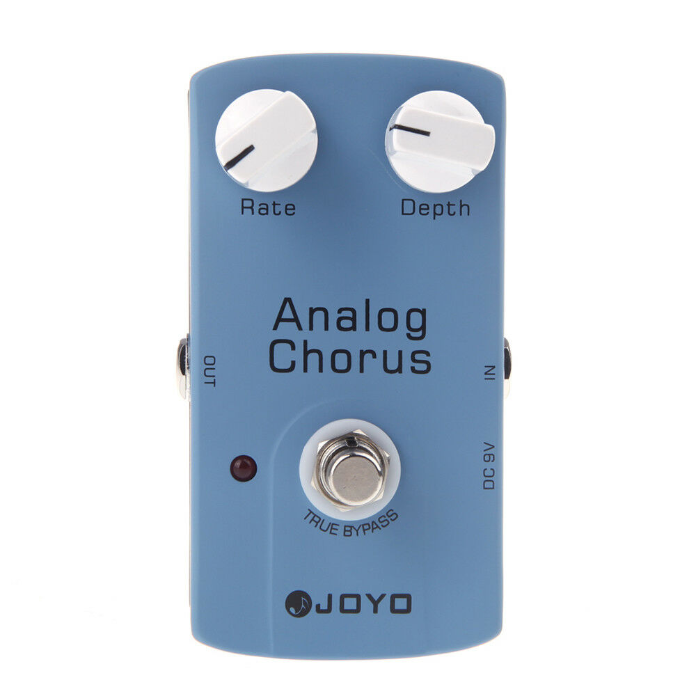 joyo analog chorus electric guitar effect pedal with true bypass blue us y5i4 760450163754 ebay. Black Bedroom Furniture Sets. Home Design Ideas