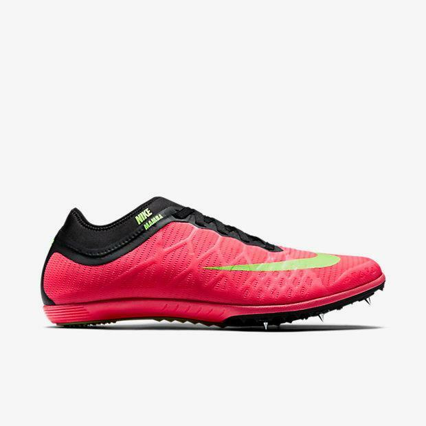 check out 27637 b237a Details about Nike Zoom Mamba 3 Track Distance Running Shoes Spikes Men s  6.5 Women s 8