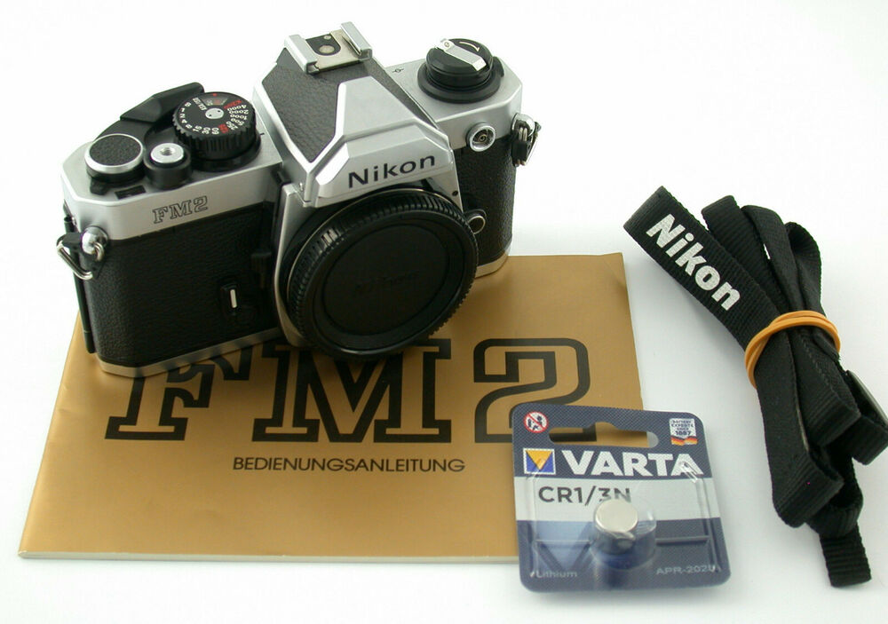 Nikon Fm2 N Analog Film Slr Body Top Hohe Sicherheit