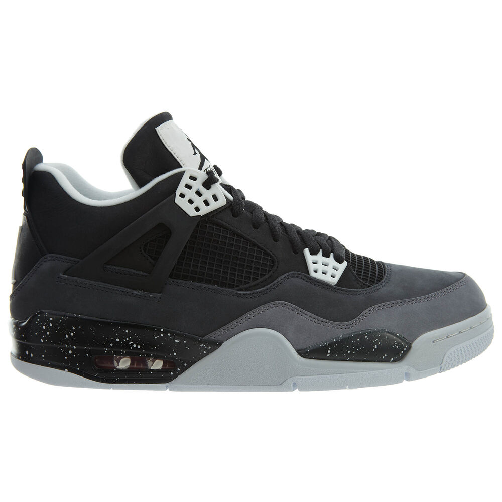 f1bb52bf6889 Details about Air Jordan 4 IV Retro Fear Pack Mens 626969-030 Black Cool  Grey Shoes Size 14