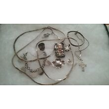 Lot of Sterling Silver Jewelry Over 100 grams Scrap or Not to Scrap