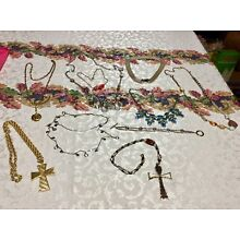 Jewelry Lot Rhinestones Etc Mixed Group Lot VARIETY Some Vintage too