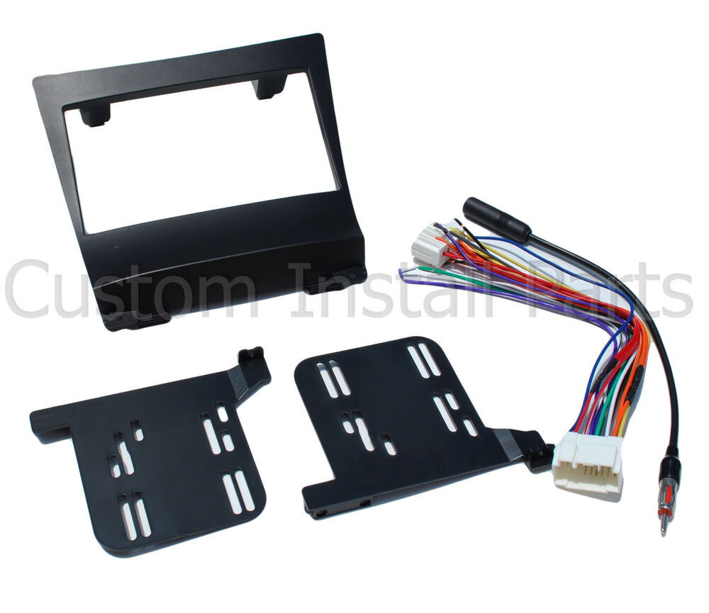 2004-2008 Double Din Stereo Radio Dash Install Kit Wire