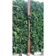 Large Turned Wood Pine NEWEL PORCH POST Column Architectural Salvage