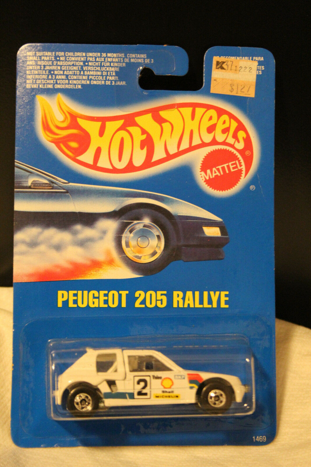 Fonkelnieuw UPC 074299014697 - Hot Wheels - Speed Fleet / Model - Peugeot 205 WW-37