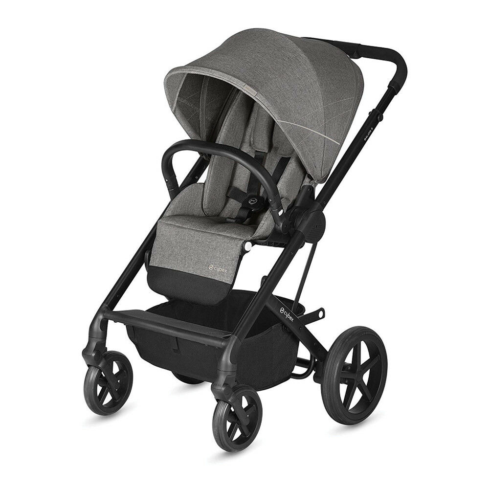 Details About Cybex Balios S Convertible Baby Infant Toddler Cat Pushchair Pram Gray