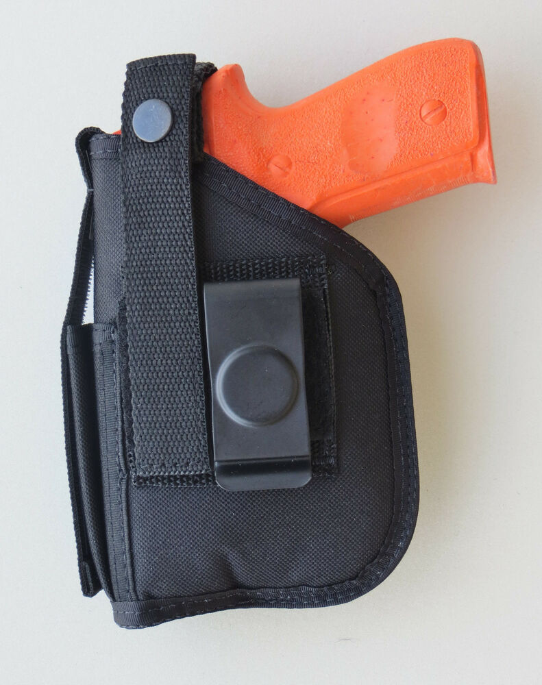 Details about Hip Holster For Ruger Security 9 with Underbarrel Laser  mounted on gun