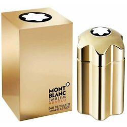 EMBLEM Absolu by Mont Blanc Men cologne for him EDT 3.3 / 3.4 oz New in Box