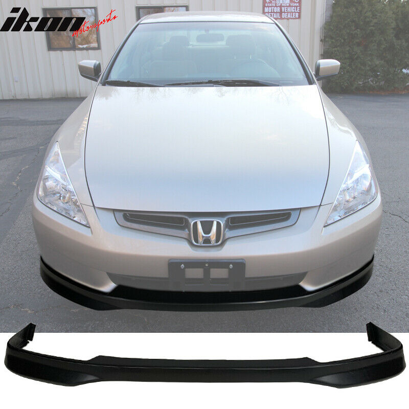 Details About Fits 03 05 Honda Accord Sedan Type R Front Per Lip Pp