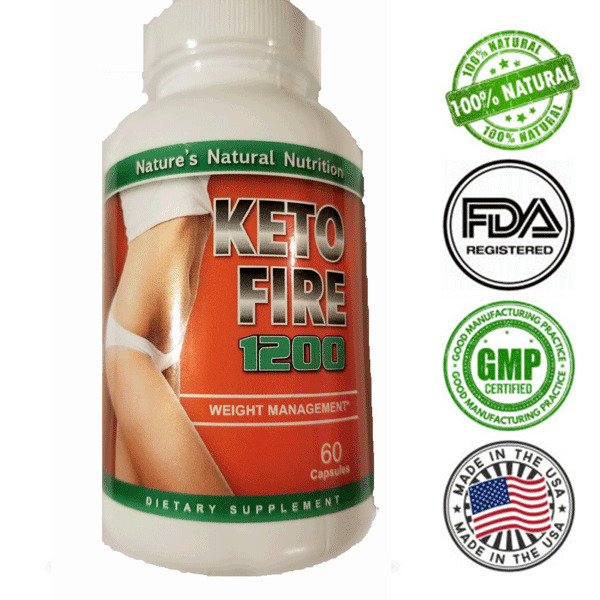Keto Burn Diet Pills 1200 MG BHB MCT Ketosis Weight Loss Supplement Carb Blocker