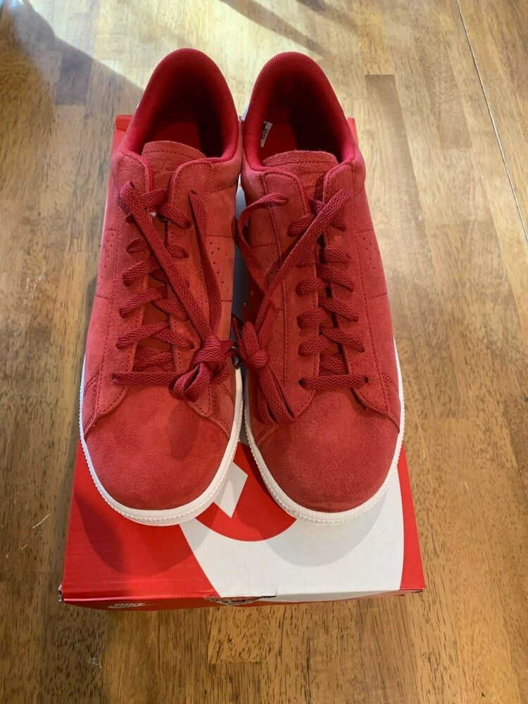 best website de8a4 86f63 Details about Nike Tennis Classic CS Suede Men s Shoes Size 11 Red 829351  600 NEW In Box