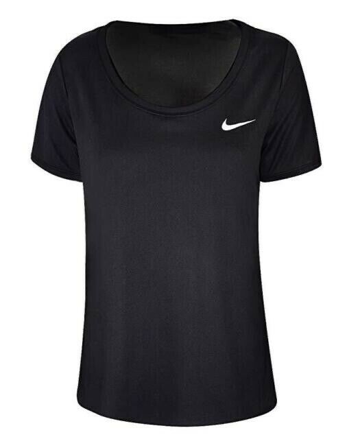 75587e901c37 Details about NIKE — Women s Sportswear Vintage Black Casual Tee Running  Gym Workout — MEDIUM