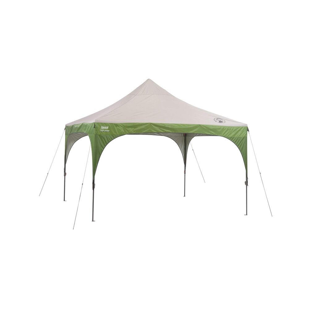 Details about Coleman Instant Canopy Heavy Duty Steel 12x12 Lightweight Outdoor Beach Shelter  sc 1 st  eBay & Coleman Instant Canopy Heavy Duty Steel 12x12 Lightweight Outdoor ...