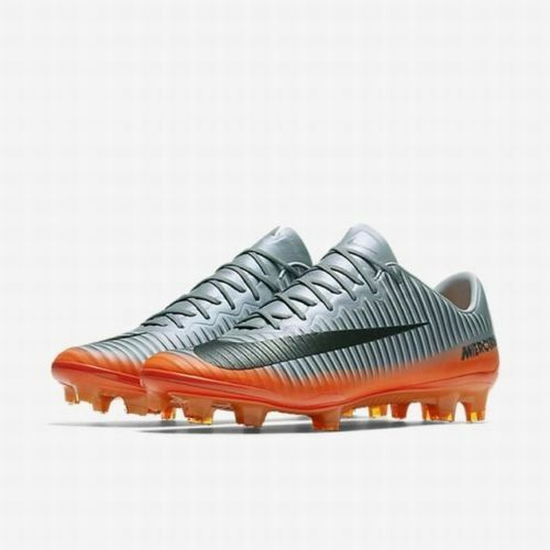 Details about Nike Mercurial Vapor XI CR7 FG Mens Size 11.5 Soccer Cleats  852514 001 Grey 743c8b8898127