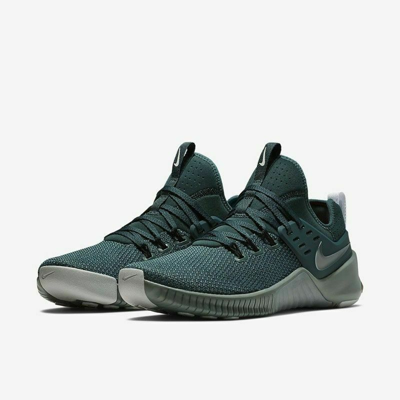 reputable site 4c404 b9372 Details about Nike Free X Metcon Green Training Shoes Crossfit Mens Size  9.5 AH8141 331