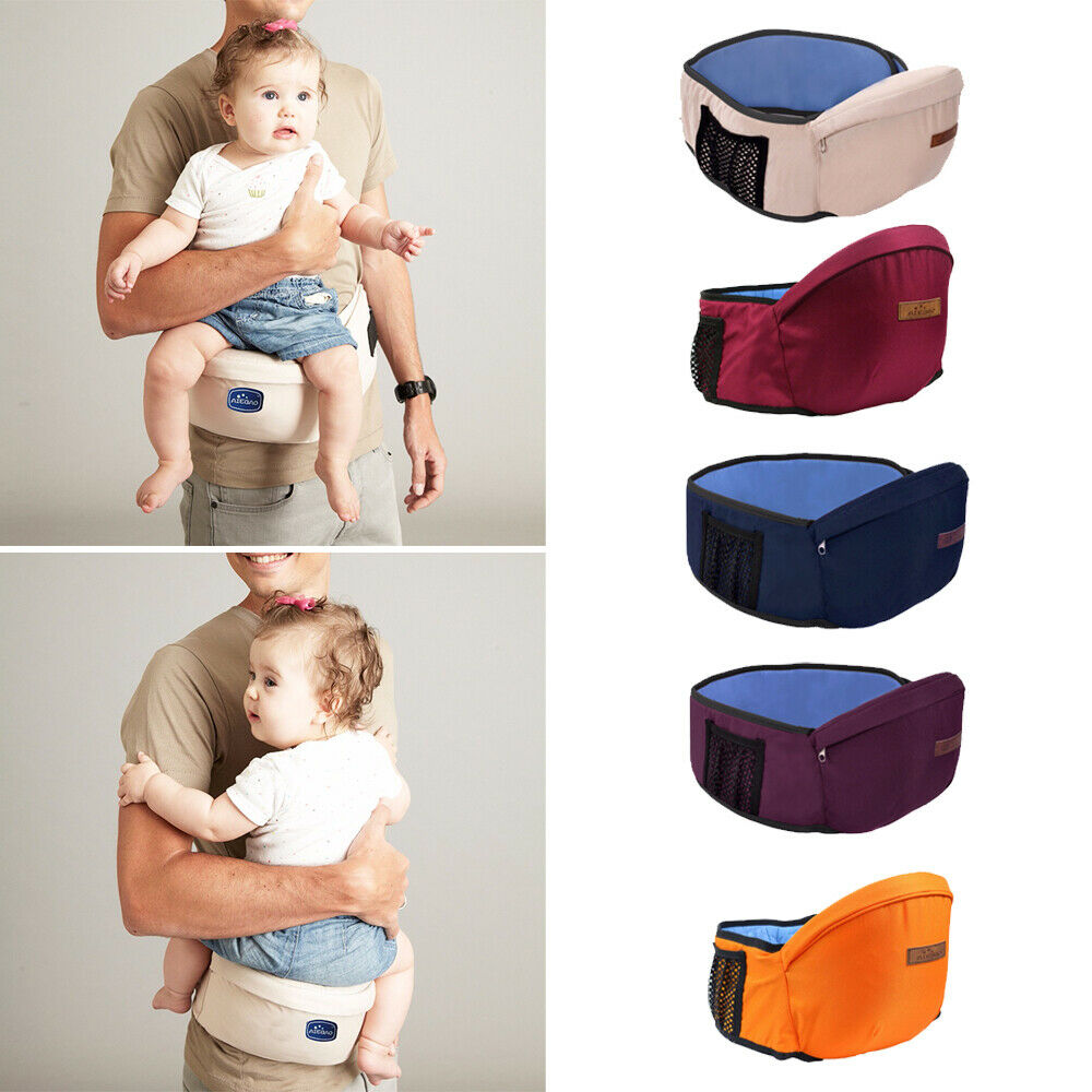 da63deb8059 Details about AIEBAO Baby Carrier Waist Stool Hold Backpack Easy Carry  Infant Kids Hip Seat