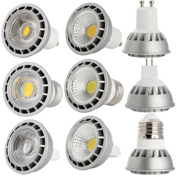 GU10 MR16 E27 15W Dimmable LED Spot Lights Bulbs High Power White Lamp Bright